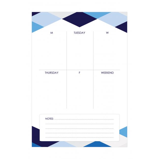 Geometry Weekly Planner