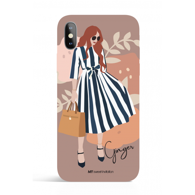 Ginger Modern Art Phone Case