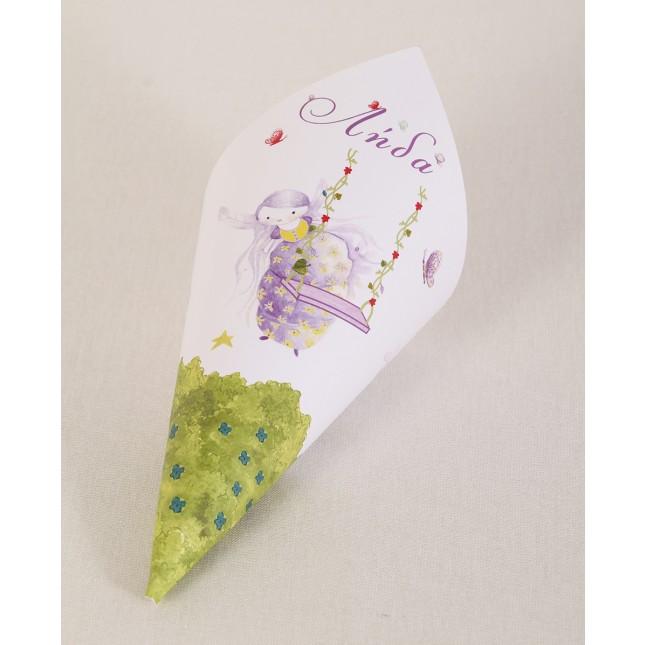 Purple Fairy Cornets
