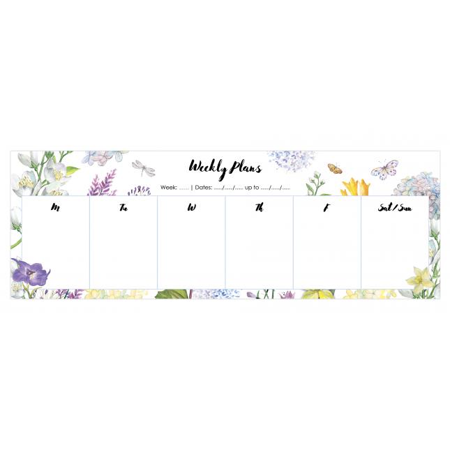 Jasmine   Desk Weekly Planner