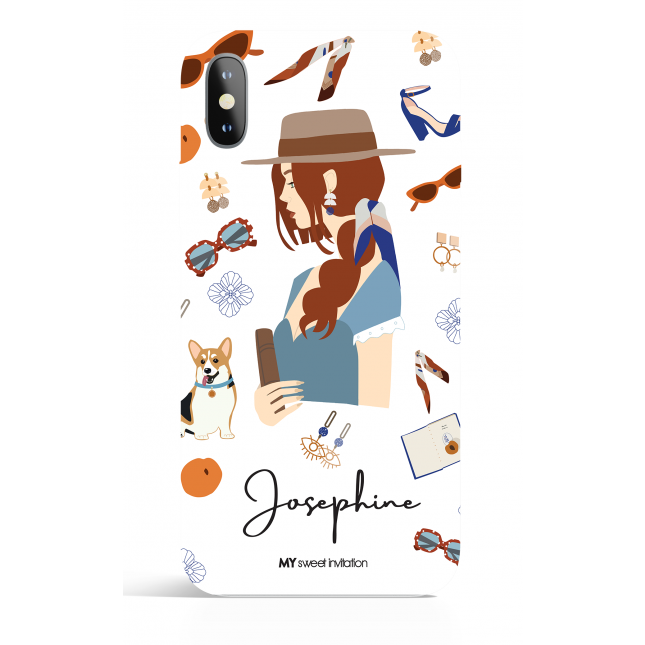 Josephine Modern Art Phone Case