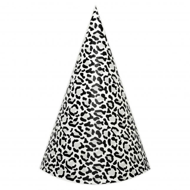 Leopard DIY Party Hats