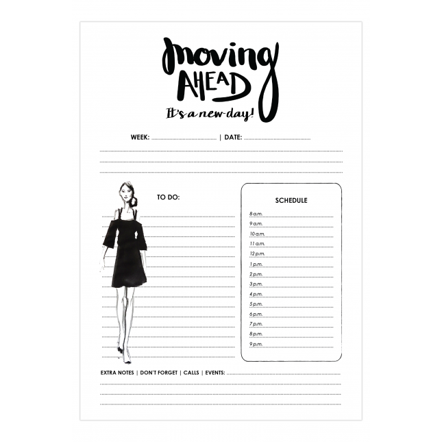New Day Daily Planner | Virginia Romo