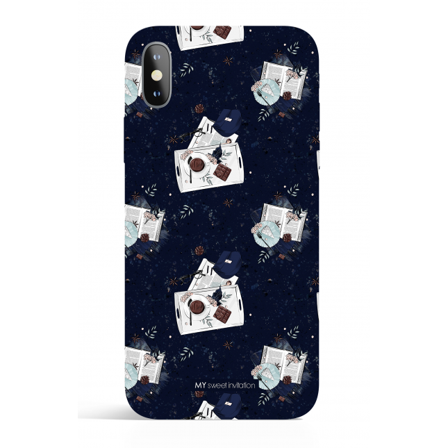I Love Fall Midnight Chocolate Phone Case