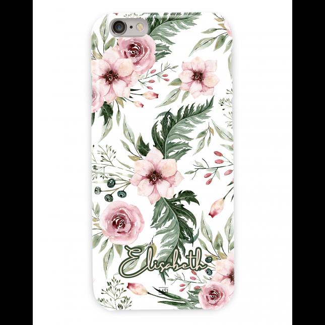 British Garden Personalized  White Case