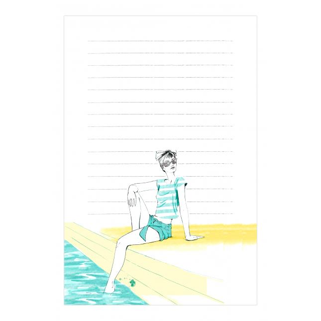 Sunshine Notepad   Virginia Romo