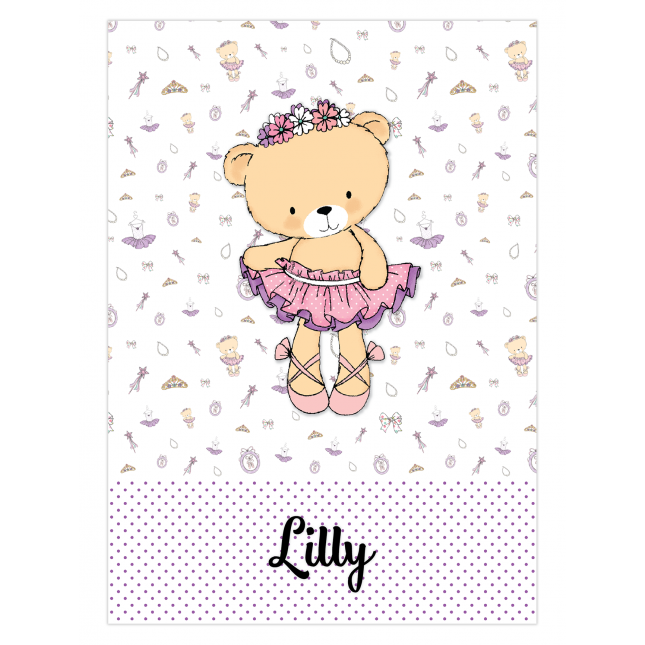 Lilly Wine Bottle Labels