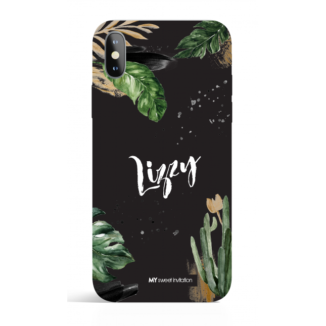 Urban Black Edition Personalized Phone Case