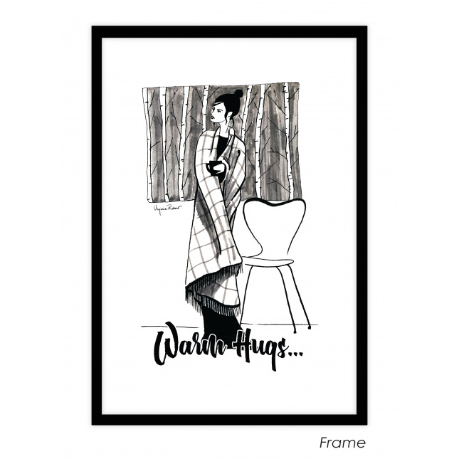 Warm Hugs Art Print | Virginia Romo