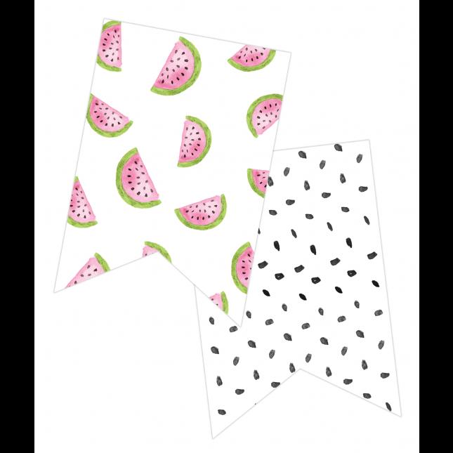 Watermelon Summer Banner