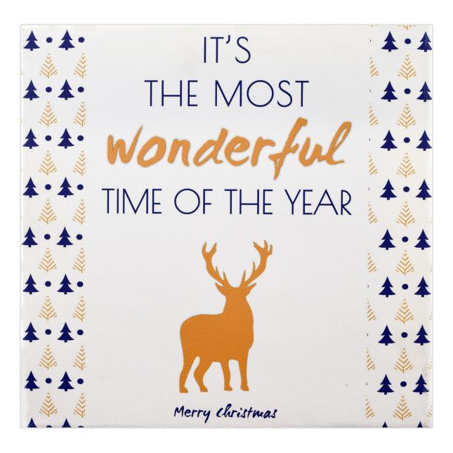Wonderful Time Christmas Frame