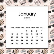 Social Media Calendar 2020 | The Desk Calendar