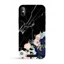 Black Marble Evening Garden PHONE CASE