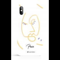 Face Color Art Phone Case
