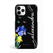 Eden Bouquet of flowers Black Personalized  Phone Case