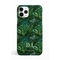 Eden Greenery Monogram  Phone Case