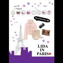 Check in Tour Eiffel I Love Paris Notebook |  Agenda
