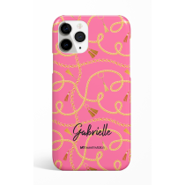 Chains Pink Personalized Phone Case