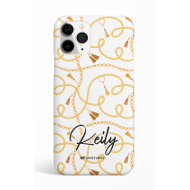 Chains White Personalized Phone Case