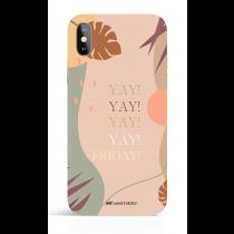 Yay Friday Modern Art Phone Case