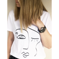 One Line Face T-shirt | Limited Edition