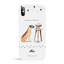 A moment on the lips_Phone Case Dog Lover