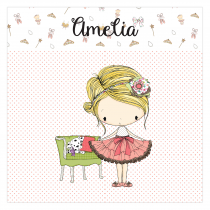 Amelia Canvas Frame