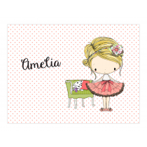 Amelia Birthday Invitation