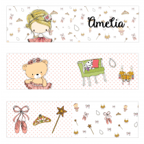 Amelia Mini Topper Flags