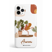 Crow Pose Personalized Phone Case