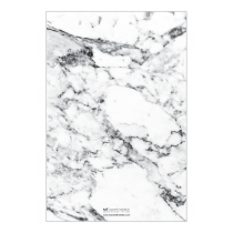 White Marble Personalized Notepad