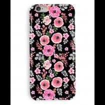 Black Floral Case