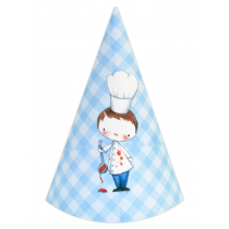 Little Boy Chef DIY Party Hats
