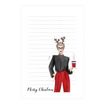 Christmas & Fashion Notepad   Maja Tomljanovic