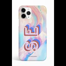 Color Full Pastel Monogram Phone Case