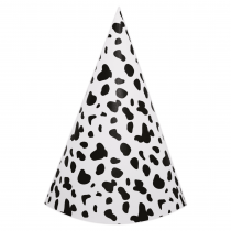 Dalmatian DIY Party Hats