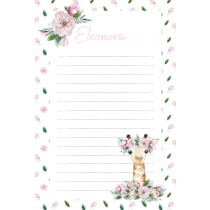 Cute Friends Camielopard Notepad