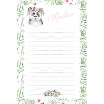 Cute Friends Panda Notepad