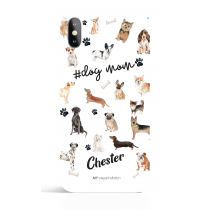 Do mom Black Phone Case Dog Lover