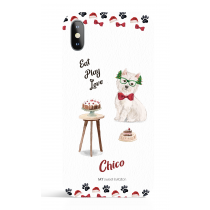 Eat Play Love Christmas Phone Case Dog Lover