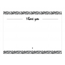 Leopard Premium Thank you Cards
