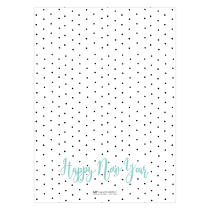 Festive Polka Greeting Card