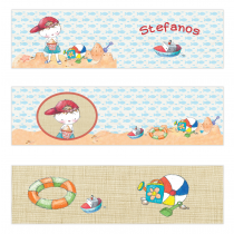 Boy Summertime Mini Topper Flags