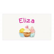 Cupcake Envelope Sticker