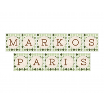 Golf Boy Twins Personalized Banner