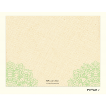 Green Apple Thank You Cards