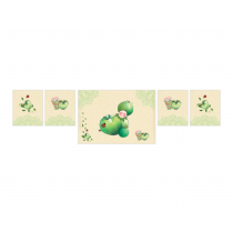 Green Apple Decor Banner