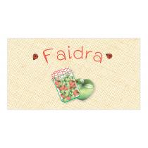 Green Apple Envelope Sticker