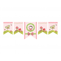 Lady Bug Decor Banner
