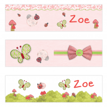Lady Bug Mini Topper Flags